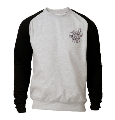 Lush Longboards Machine Raglan Sweat