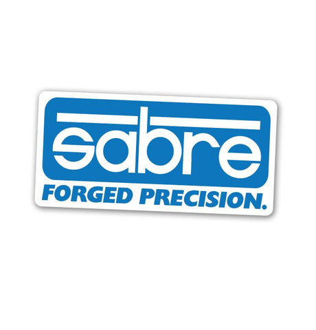 Sabre Trucks Forged Precision Sticker Medium
