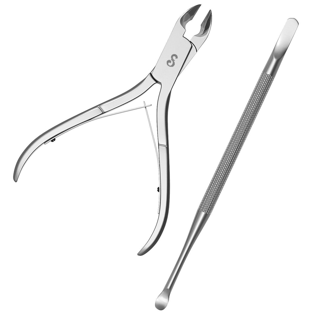 Cuticle Nipper And Pusher Set