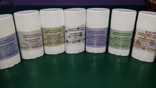 Lavender Orange Deodorant Stick