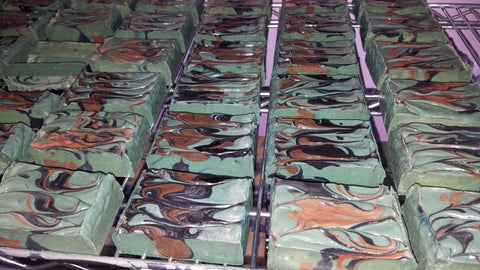 Camouflage Soap Bar