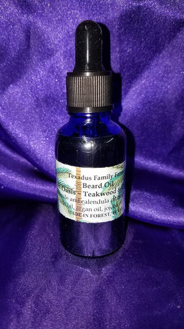 Desert Oasis Beard Oil