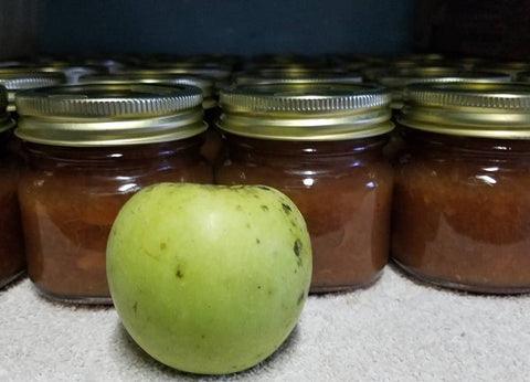 Pink Himalayan Salted Caramel Apple and Pear Jam 4oz