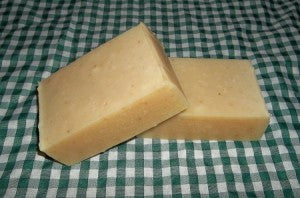 Lemon Cornmeal Soap Bar