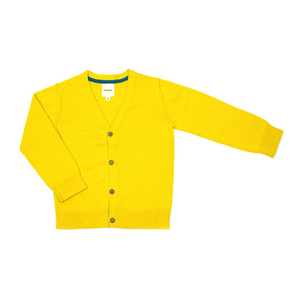 Smart Cardigan Yellow