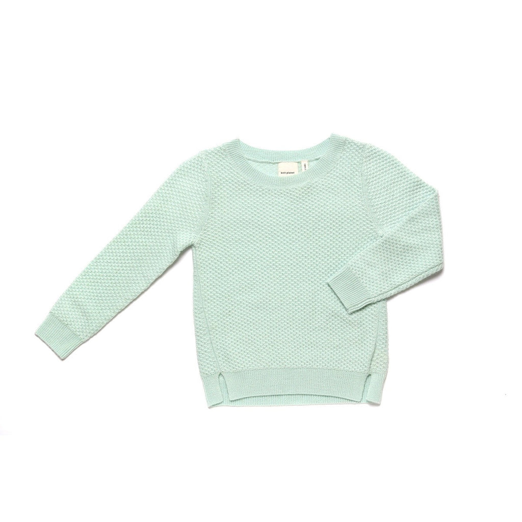 Textured Jumper Pearl Green