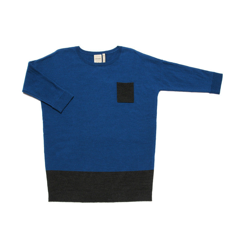 Pocket Long T(Adult) Sapphire Blue