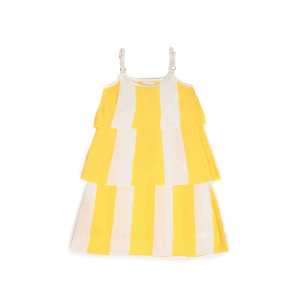 Ruffle Playsuit Lemon