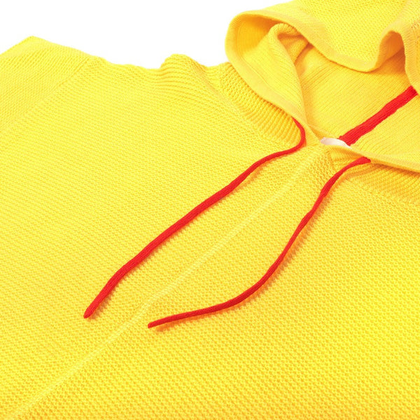 Summer Poncho Yellow