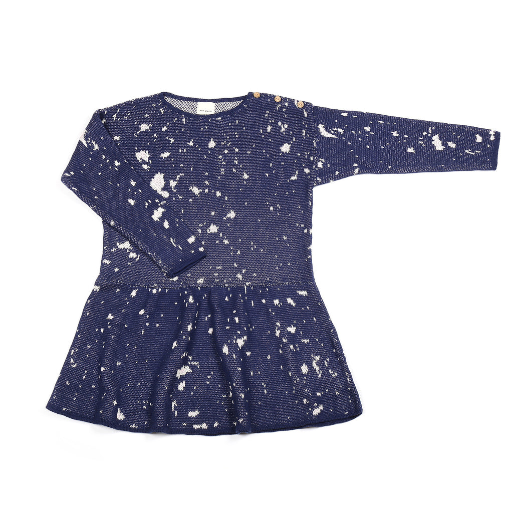 Fireworks Dress Navy