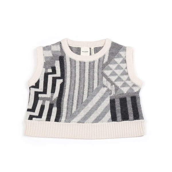 Journey Crop Vest Cream