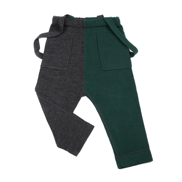Smart Trousers Green / Charcoal