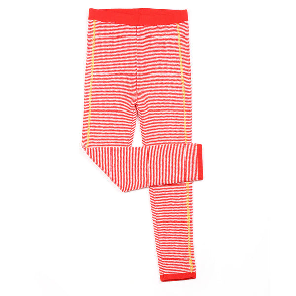 Ribbing Legging Red
