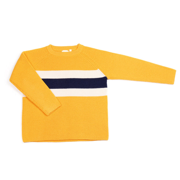 Stripe Jumper Yellow