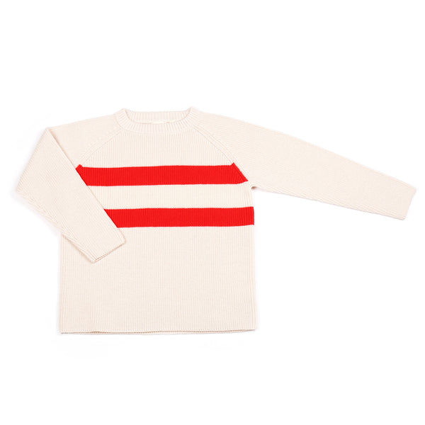 Stripe Jumper Cream