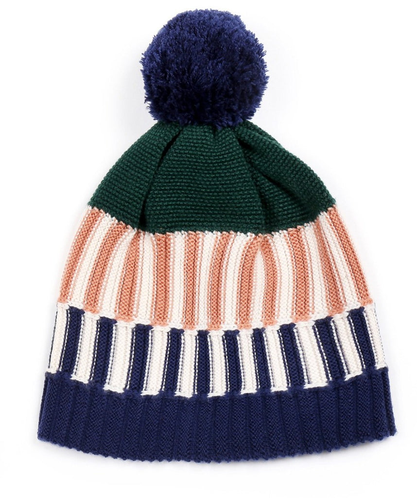 Colorful Beanie Green