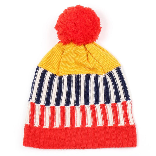 Colorful Beanie Yellow