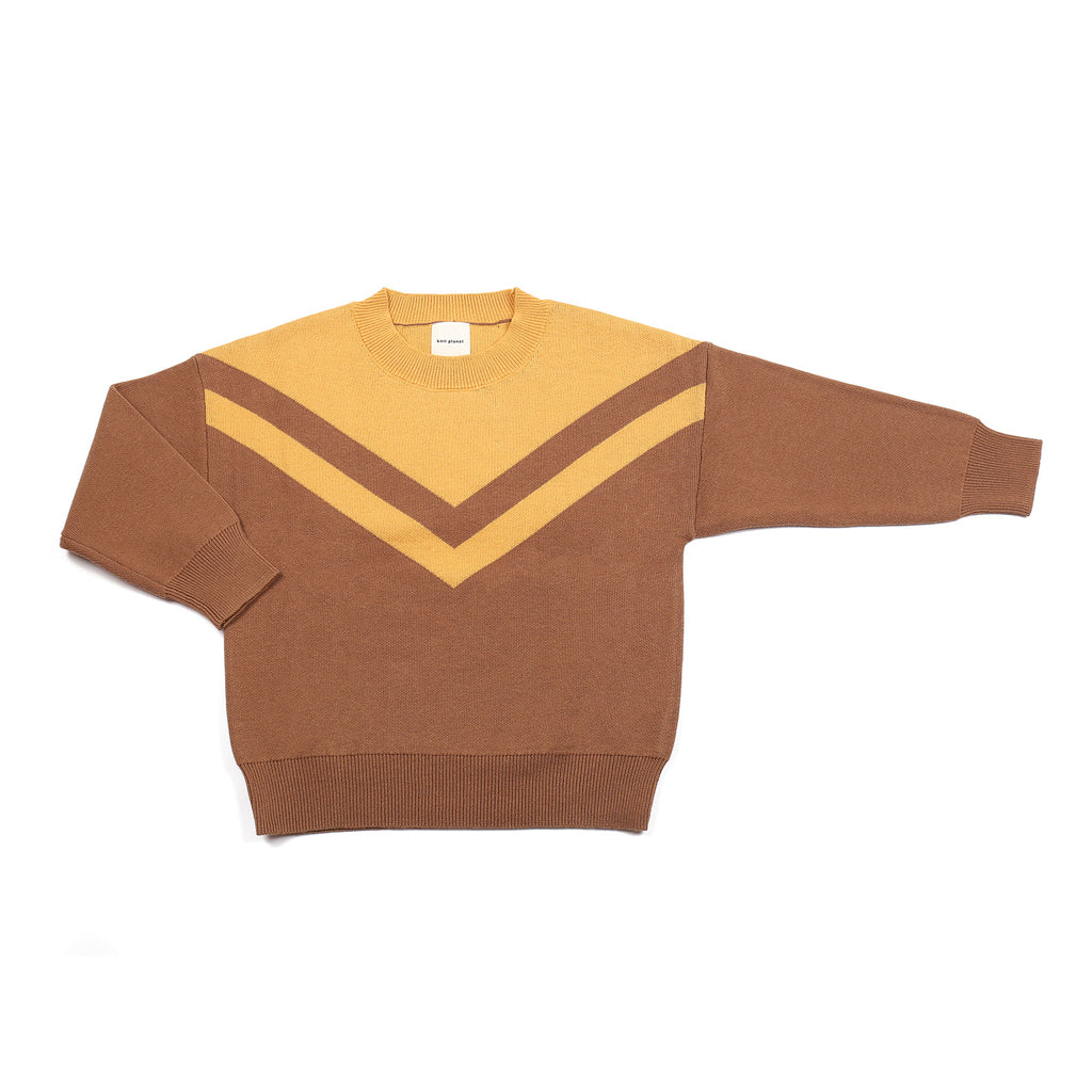 V Jumper Brown