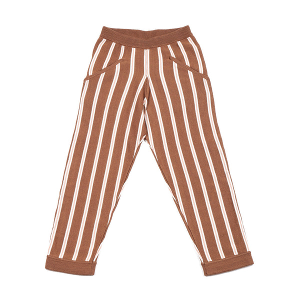 Cozy Lazy Trousers Brown