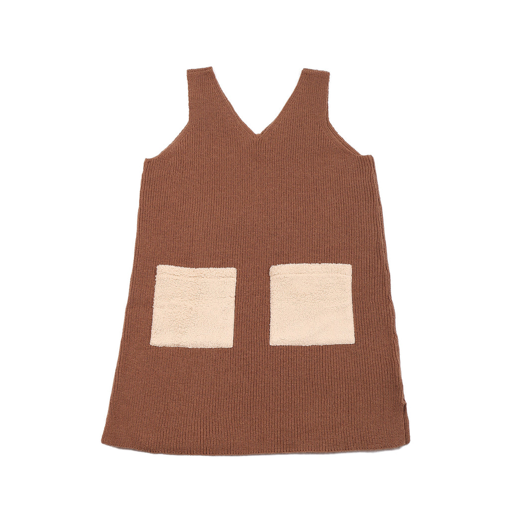 Pocket Dress Brown