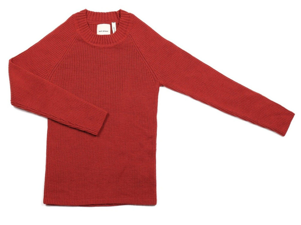 Basic Pullover Maroon