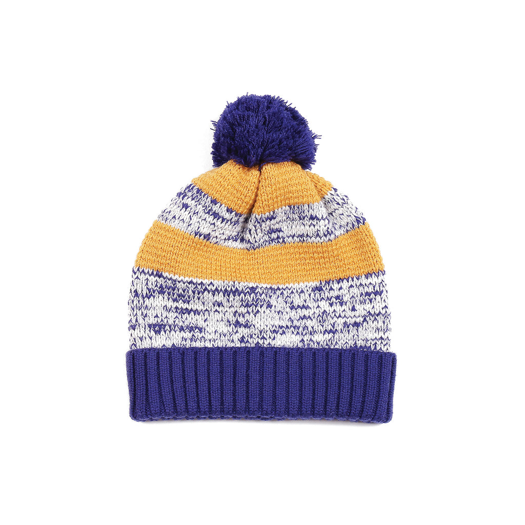 Colour Twisted Beanie Indigo
