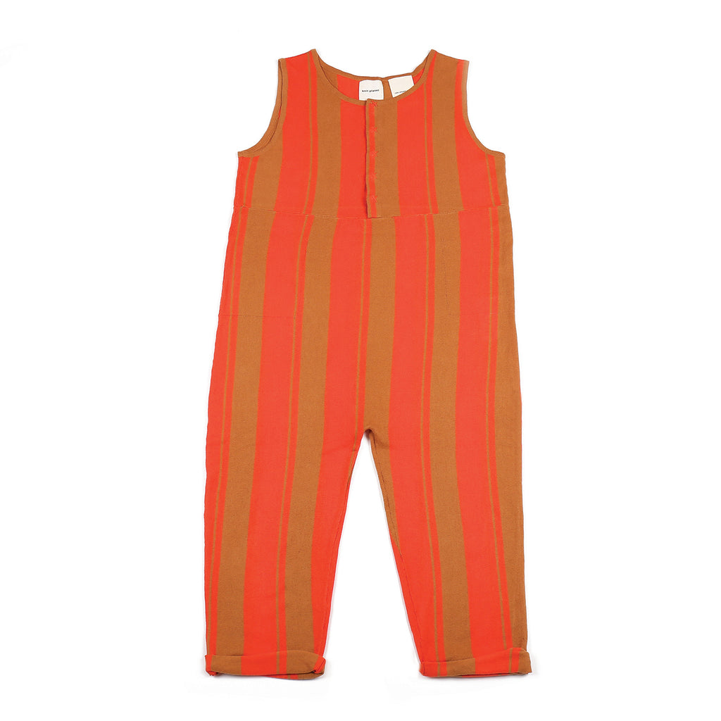 Funky Jumpsuit Brown/Orange