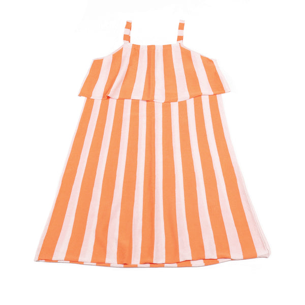 Flutter Dress Peach