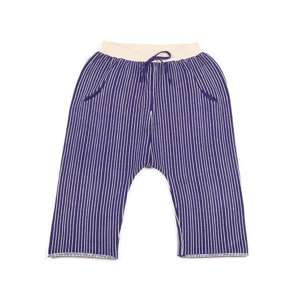 Stripe Trousers Indigo