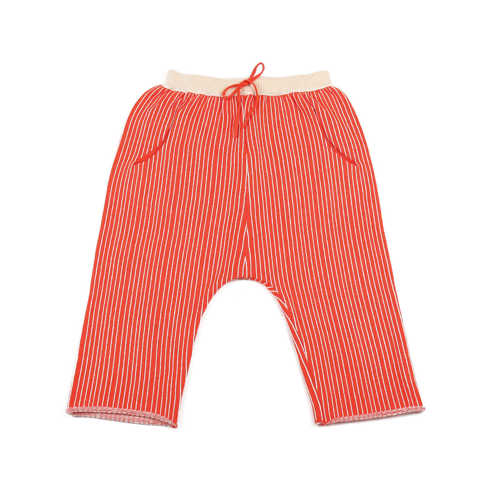 Stripe Trousers Orange