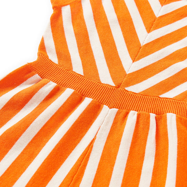 Sunny Playsuit Orange
