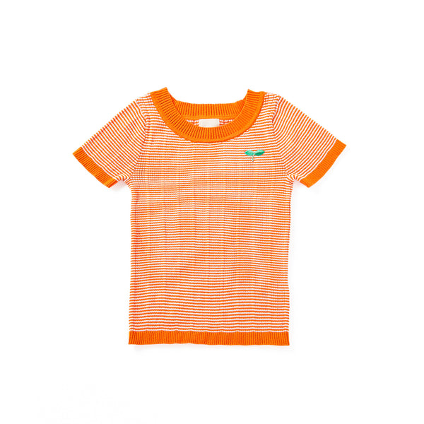 Ribbing Jumper Orange