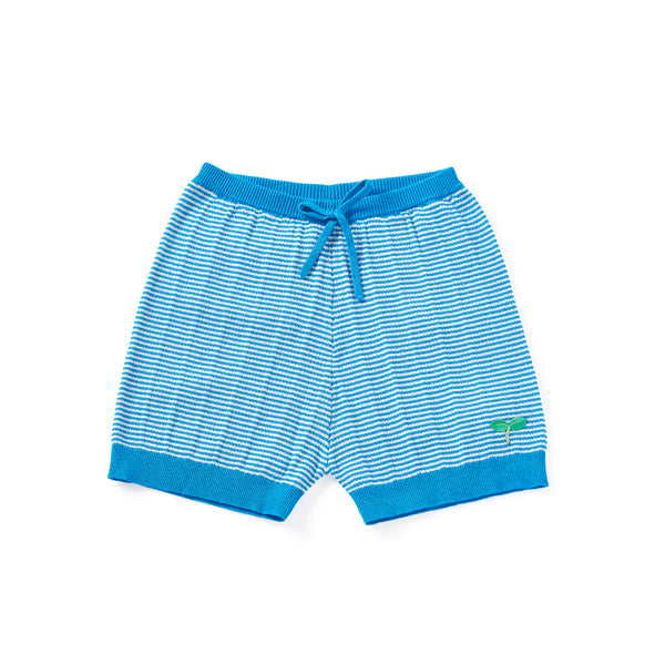 Ribbing Shorts Blue