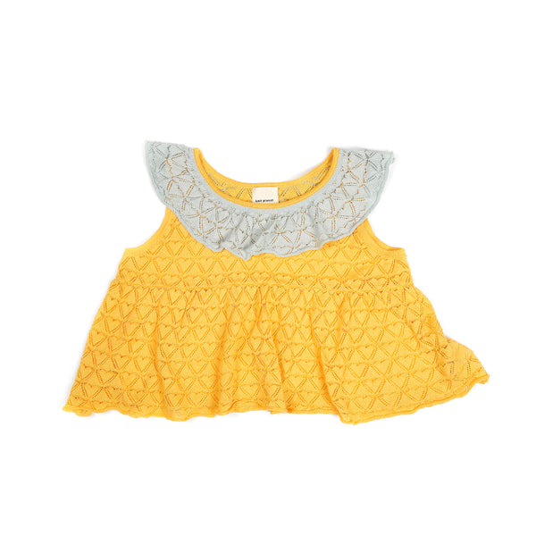 Sweetheart Blouse Yellow
