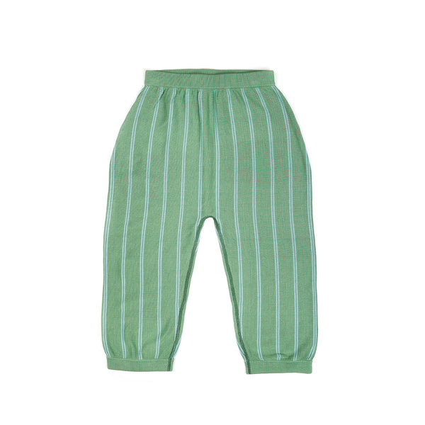 Wide Leg Trousers Green