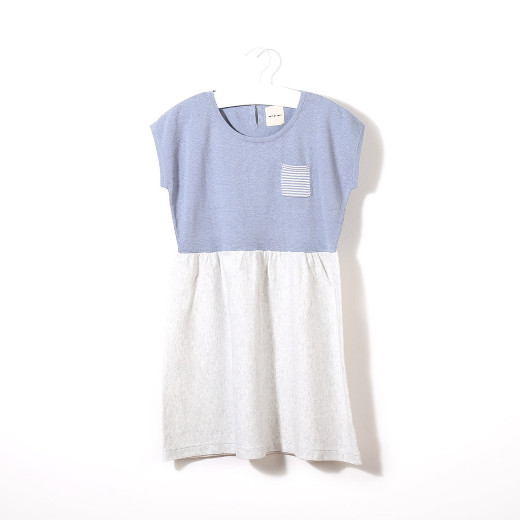 Ice Lolly Dress Ice Blue / Pale Grey
