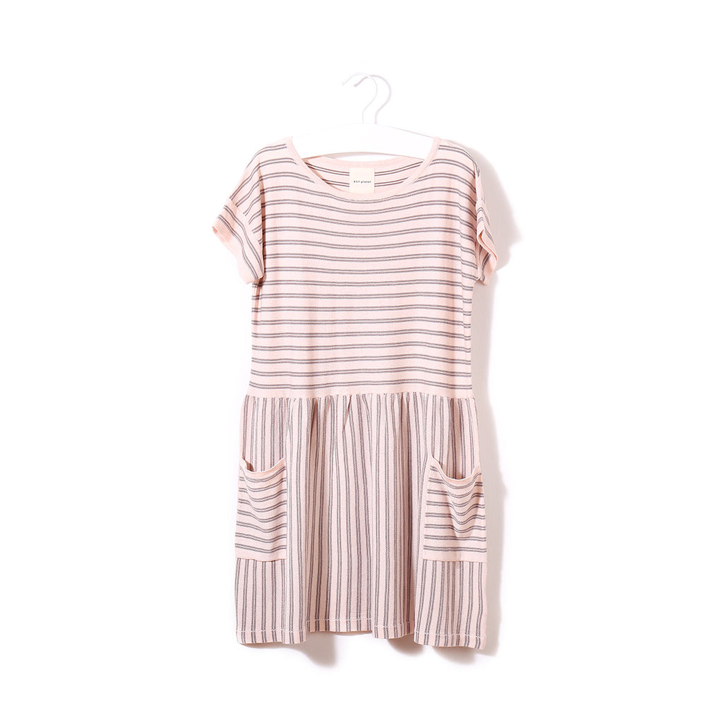 Ice Cream Dress Pink / Choco