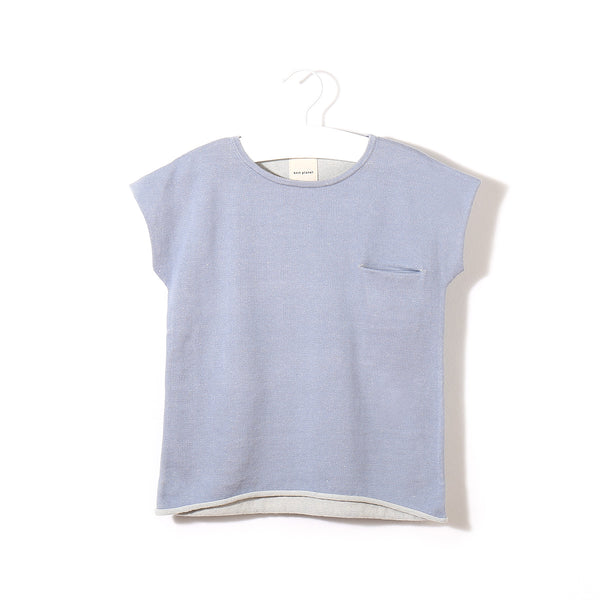 Little Pocket T Ice Blue