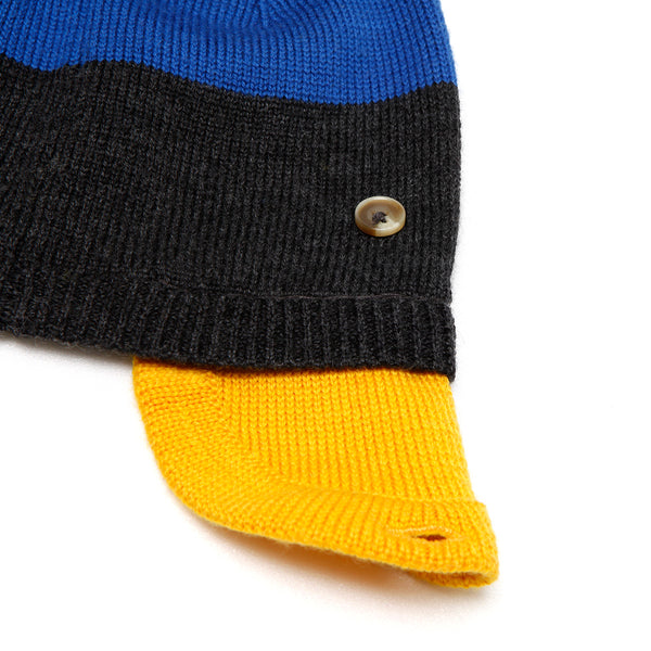 Pilot Beanie Blue/Dark Grey