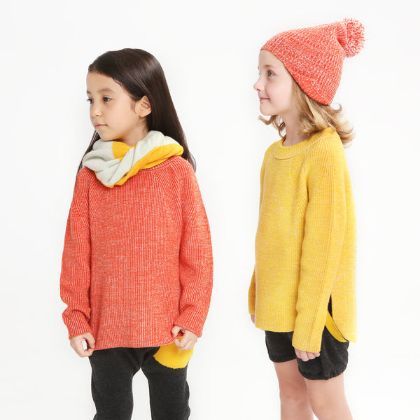 Colourful Snood Red/Yellow