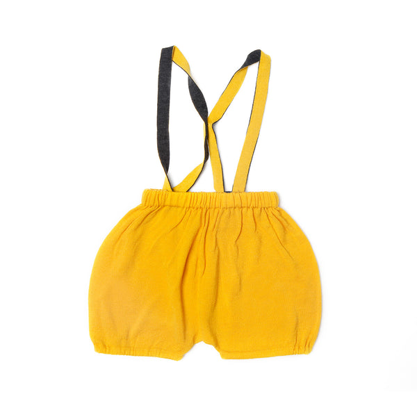 Bubble Dungarees Yellow