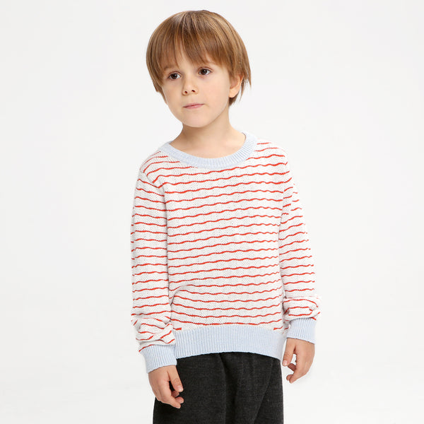 Ripple Jumper Red