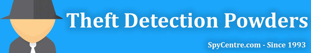Theft Detection Powders Collection Banner