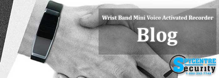 Wrist Band Mini Voice Activated Recorder Blog Banner