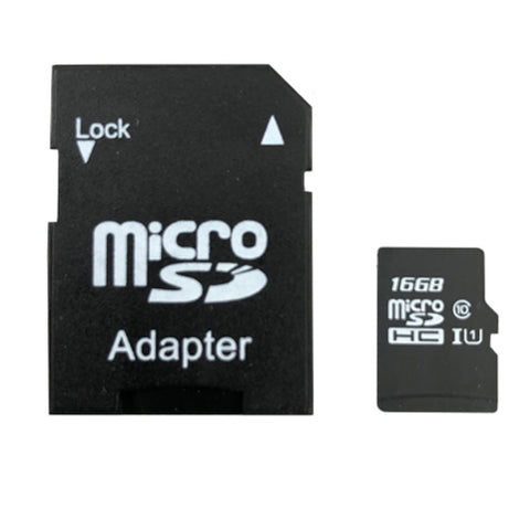 Class ten Micro SD. Perfect for cameras, phones and more.