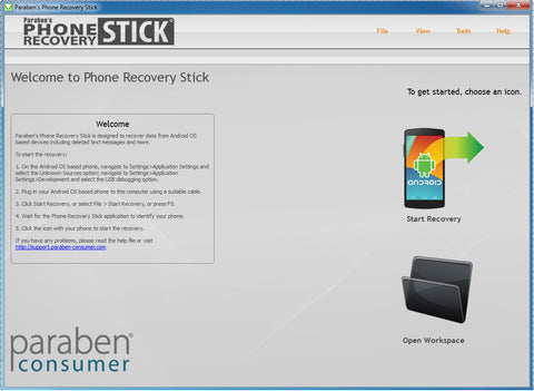 Android Data Recovery Stick