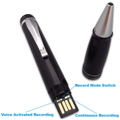 Check Out This Voice Activated Pen Recorder