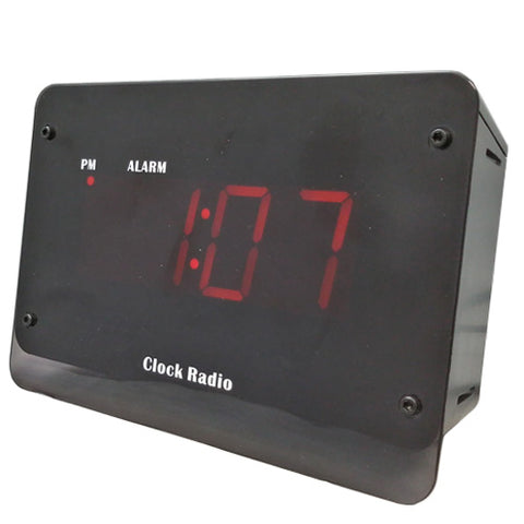 Fully functional clock radio with a built in hidden cam and DVR.