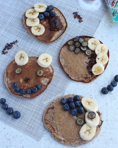 Healthy Food Ideas for Kids ǀ Top 5 Best Sugarfree Healthy Food Ideas for Kids With Recipe and Instructions - Sugarfree Pancakes