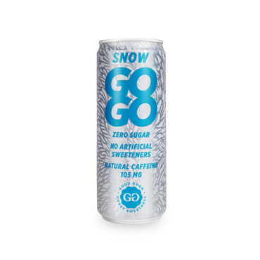 GOGO - Functional Energy Drinks - 24 x 330 ml - Snow